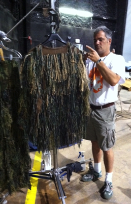 The Ghoul Michael Bevins Prepping Fireproof Ghoul Costume.jpg